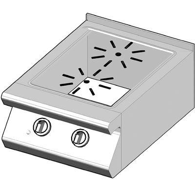 7CH/50 Электрическая плита с стекло-керамической поверхностью