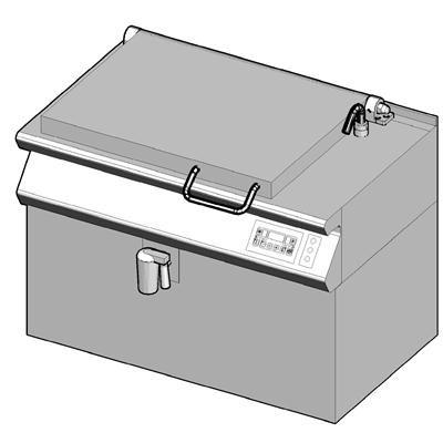 7EB/110EAW Электрическая сковорода опрокидываемая