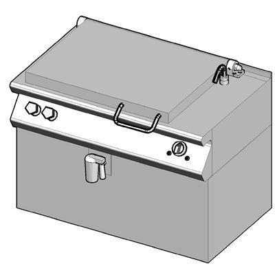 7EB/110 Электрическая сковорода опрокидываемая