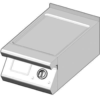 7EBP/40-L Электрический гриль с сплошной поверхностью