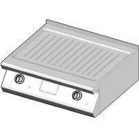 7EBP/80-R Электрический гриль с рифленой поверхностью