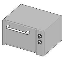 7UBE/80 II Электрический духовой шкаф-подставка