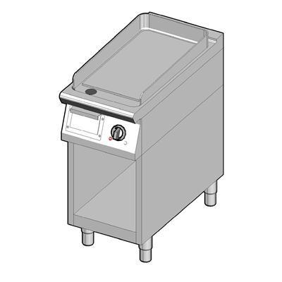 8EBPUBO/40-C Электрический гриль с гладкой поверхностью