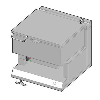 8EKM/50 Электрическая сковорода опрокидываемая