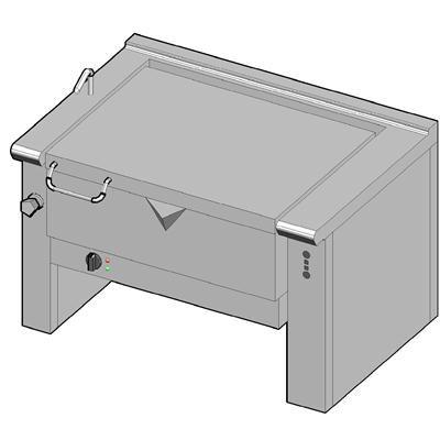 8EKM/90 Электрическая сковорода опрокидываемая