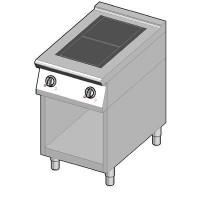 8IHF2UBO/50 Индукционная плита 2 конфорки