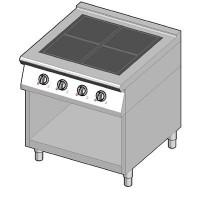 8IHF4UBO/80 Индукционная плита 4 конфорки