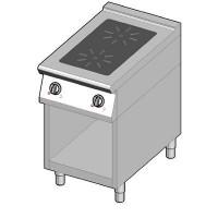 8IHR2UBO/50 Индукционная плита 2 конфорки