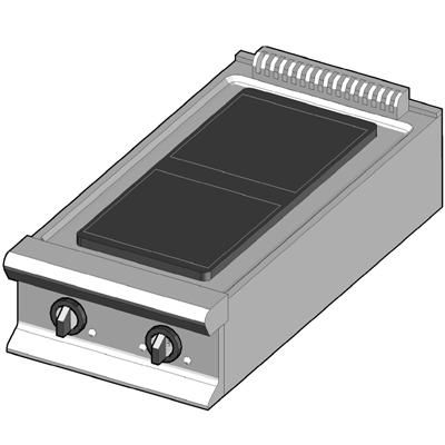 CH/45 Электрическая плита с стекло-керамической поверхностью