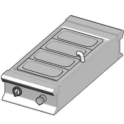 EBM/45-T-D Электрический мармит