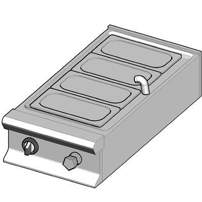 EBM/45-T Электрический мармит