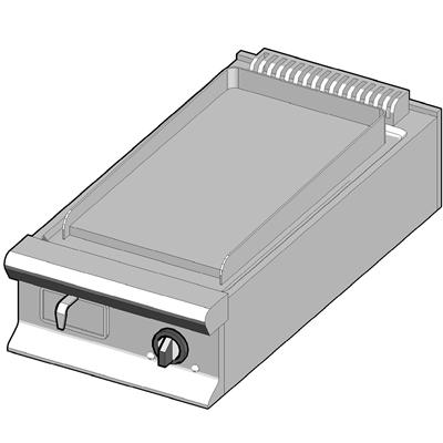 EBP/45-C Электрический гриль с гладкой поверхностью