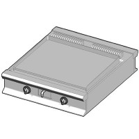 EBP/90-C Электрический гриль с гладкой поверхностью