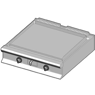EBP/90-L Электрический гриль с сплошной поверхностью