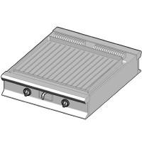 EBP/90-R-D Электрический гриль с рифленой поверхностью