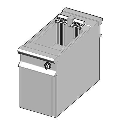 EF1/45-D Электрическая фритюрница