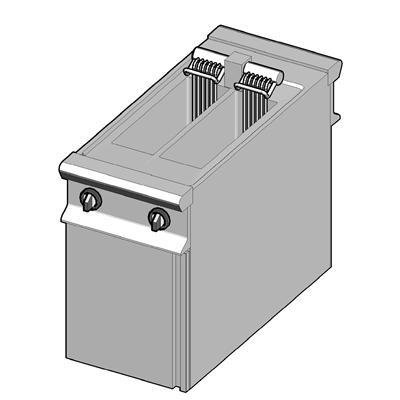 EF2/45-D Электрическая фритюрница