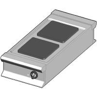 EH/45/D Электрическая плита с квадратными конфорками