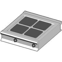 EH/90-D Электрическая плита с квадратными конфорками