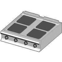 EH/90 Электрическая плита с квадратными конфорками