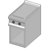 EK/40 Электрическая плита с сплошной