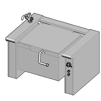 EKB/120 II Электрическая сковорода опрокидываемая