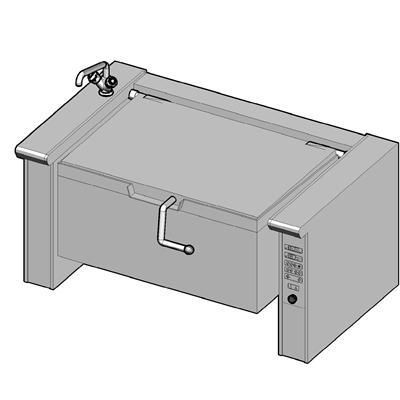 EKB/150E II Электрическая сковорода опрокидываемая