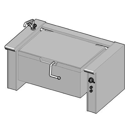 EKB/150 II Электрическая сковорода опрокидываемая
