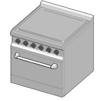 EKE/70 Электрическая плита с сплошной