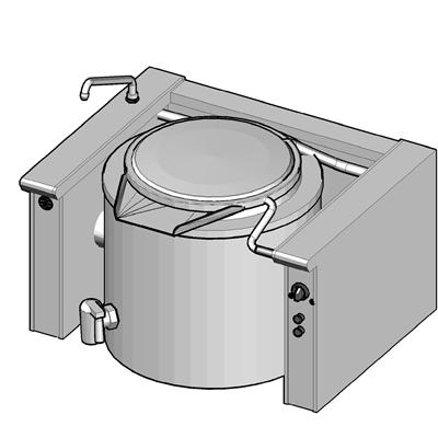 EKK/150 Электрический котел опрокидываемый