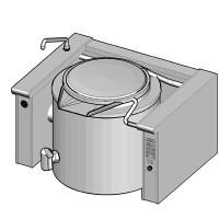EKK/250E II Электрический котел опрокидываемый