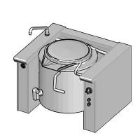 EKK/40 Электрический котел опрокидываемый