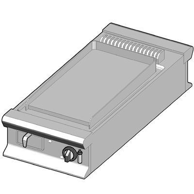 GBP/45-C-D Газовый гриль с гладкой поверхностью