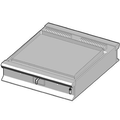 GBP/90-C-D Газовый гриль с гладкой поверхностью