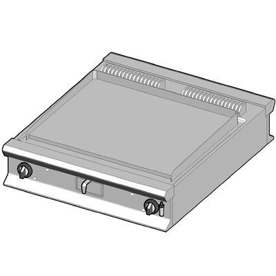 GBP/90-L-D Газовый гриль с сплошной поверхностью