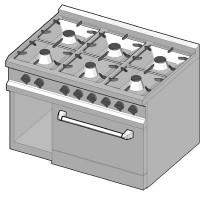 GRE/105 Газовая плита