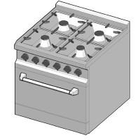 GRE/70 Газовая плита