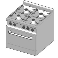 GRG/70 Газовая плита