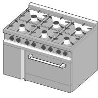 GRGC/105 Газовая плита
