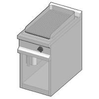 GUE/40-B Электрический гриль с рифленой поверхностью
