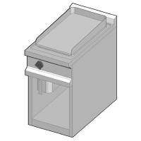 GUE/40-C Электрический гриль с гладкой поверхностью