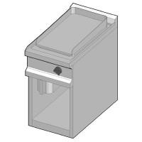 GUE/40 Электрический гриль с сплошной поверхностью