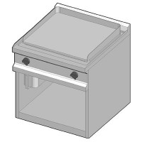 GUE/70-C Электрический гриль с гладкой поверхностью