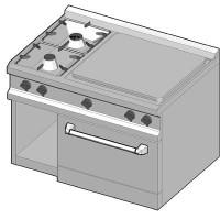 SIE/105 Газовая плита комбинированная