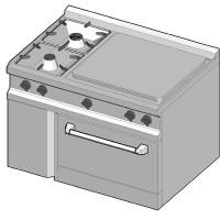 SIEC/105 Газовая плита комбинированная
