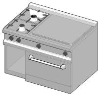 SIG/105 Газовая плита комбинированная