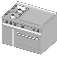 SIGC/105 Газовая плита комбинированная
