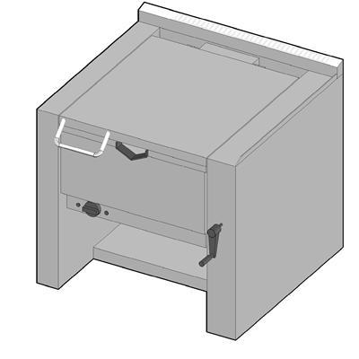 TPE/80 Электрическая сковорода опрокидываемая