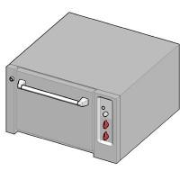 UBE/90 Электрический духовой шкаф-подставка