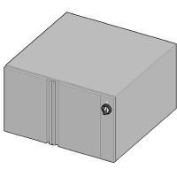 UBW/90 II Тепловой шкаф-подставка